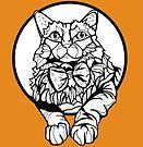 Sharpie Cat: Fluff by mellierosetest