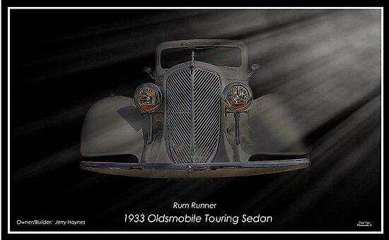 """1933 Oldsmobile Touring Sedan - Rum Runner by Michael """" Dutch """" Dyer"""