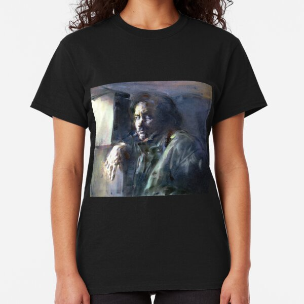 Portrait of Kip Hanrahan (at the 11th Street Studio, NYC) Classic T-Shirt