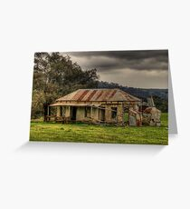 Location Location - Somewhere on the Road To Hill End - The HDR Experience Greeting Card