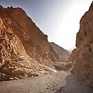 Between walls of Mosaic Canyon by Owed To Nature