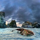 After storm, shipwreck by mike2048