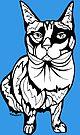 Sharpie Cat: Karma the Siamese Cat by mellierosetest