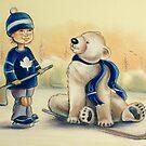 Team Mates by Sarah  Mac Illustration