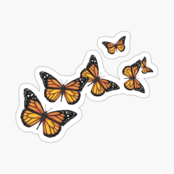 beautiful butterflies !! Sticker