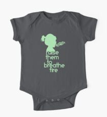 Raise Them To Breathe Fire - SassyPants Edition One Piece - Short Sleeve