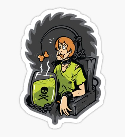 Scooby Trapped Sticker