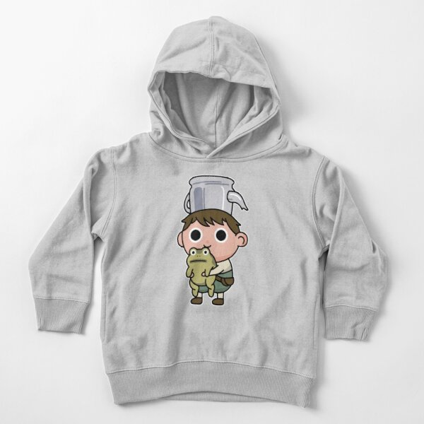 Greg and the frog Toddler Pullover Hoodie