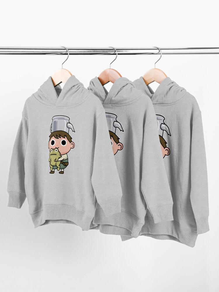 Alternate view of Greg and the frog Toddler Pullover Hoodie