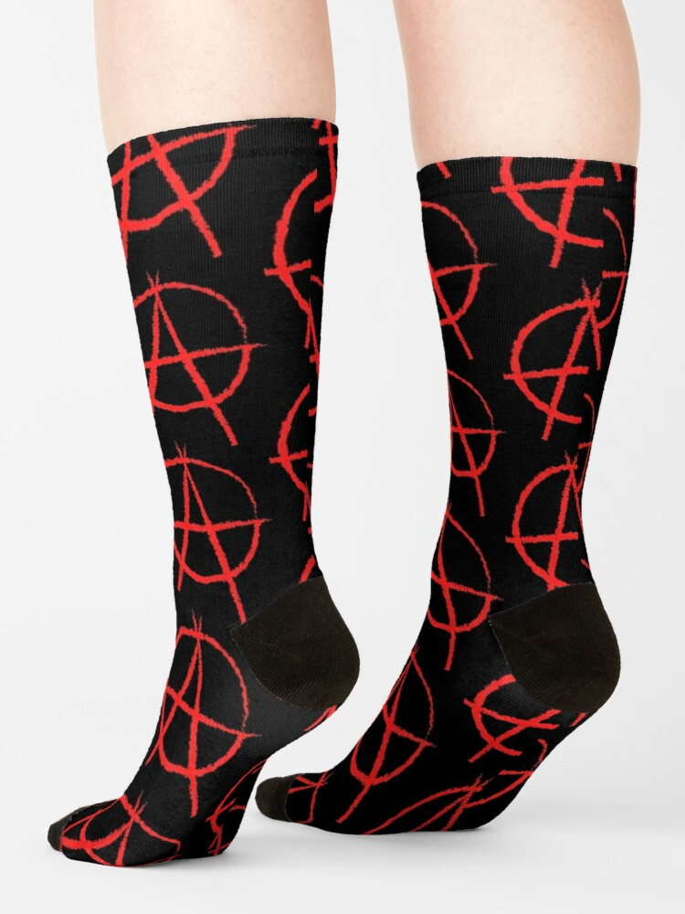 Alternate view of NDVH Anarchy Socks