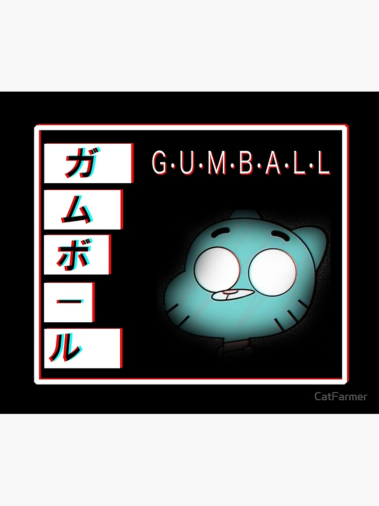 Gumball - Glitch by CatFarmer