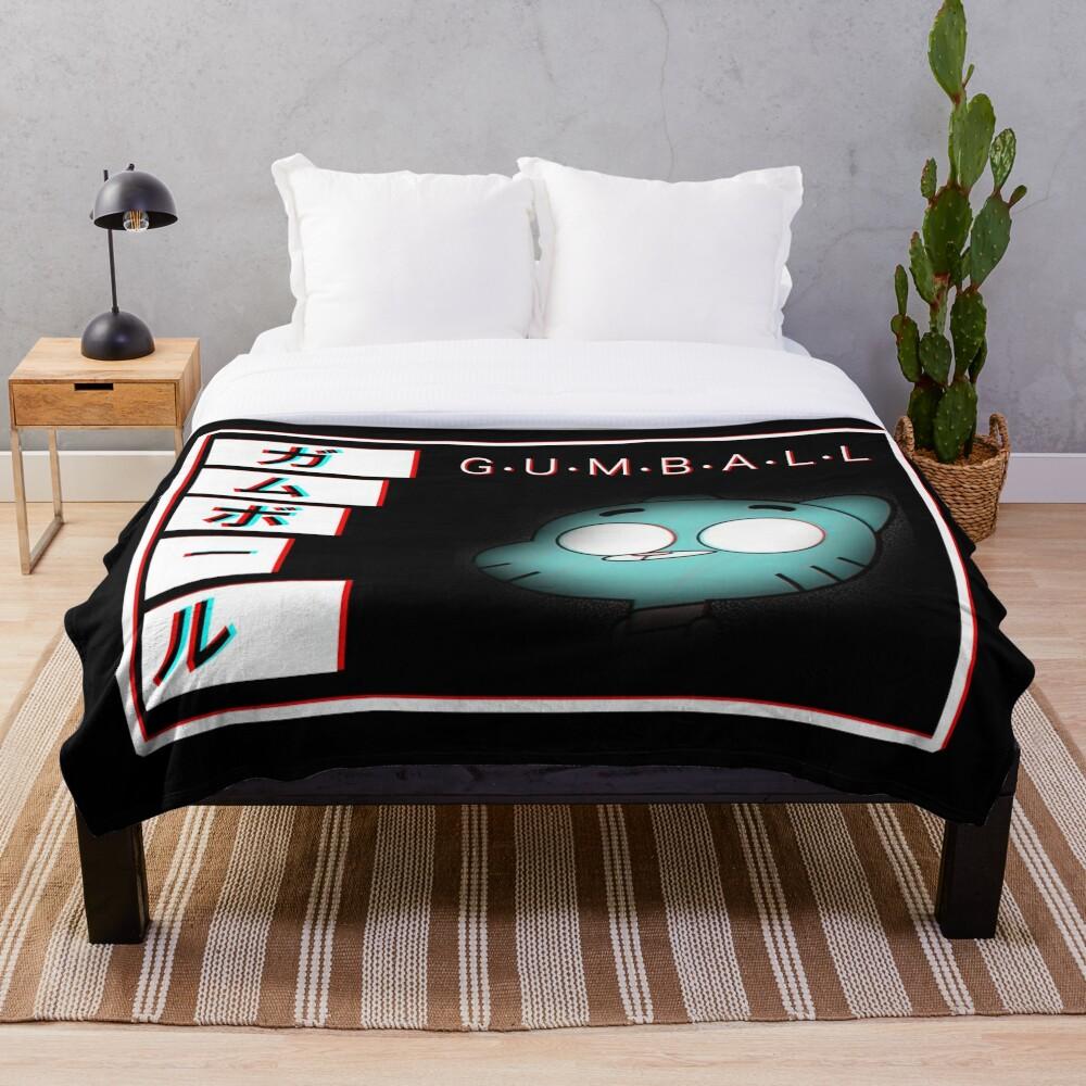Gumball - Glitch Throw Blanket