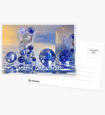 Surreal Merry Christmas card Postcards