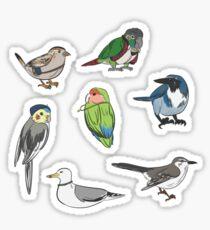 Life is Bird Sticker