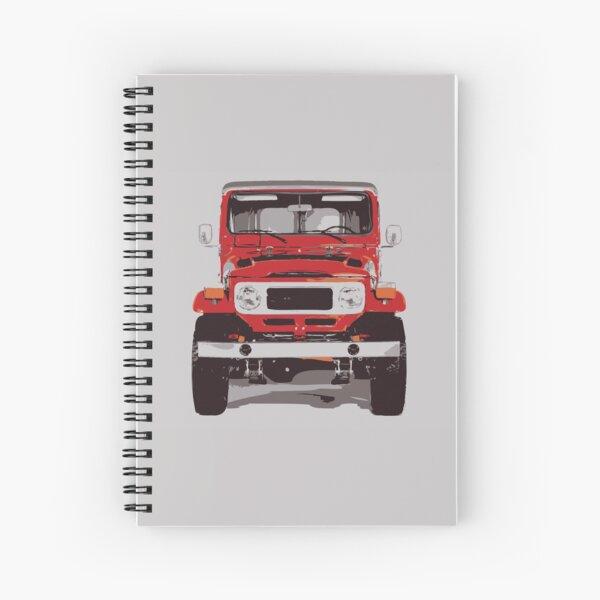 1981 Toyota Land Cruiser FJ40 Spiral Notebook