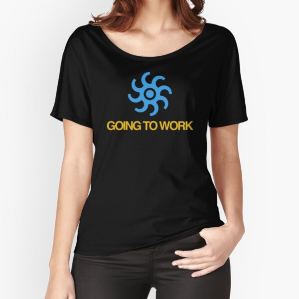 NDVH Going to Work Relaxed Fit T-Shirt