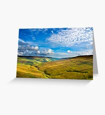 Summer View from The Buttertubs Greeting Card
