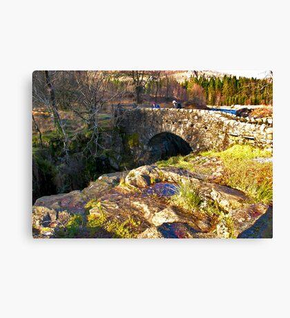 Birks Bridge - River Duddon Canvas Print