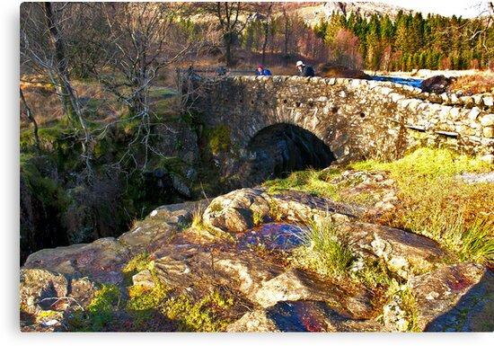 Birks Bridge - River Duddon by Trevor Kersley