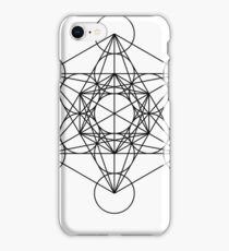 Metatron's Cube Star Cluster - Sacred Geometry iPhone Case/Skin
