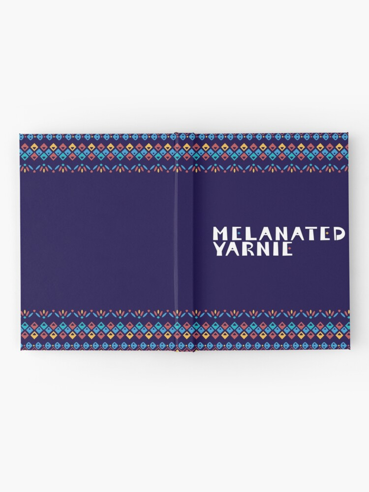 Alternate view of Melanated Yarnie Hardcover Journal