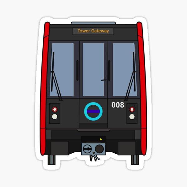 London Docklands Train Sticker