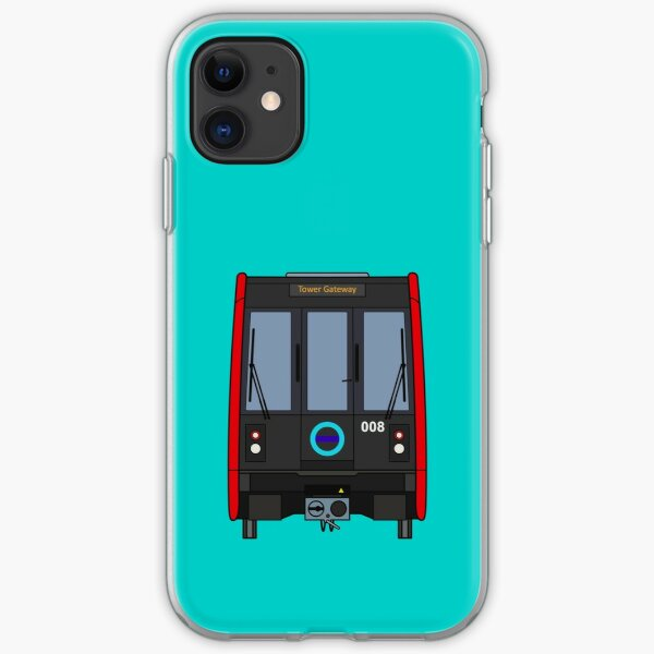 London Docklands (DLR) Train iPhone Soft Case