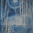 Winter at Midnight by linmarie