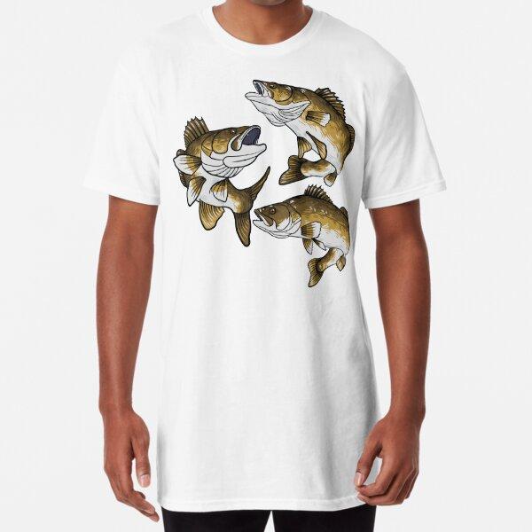 Walleye Fishing Long T-Shirt