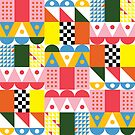 Ray (Midcentury Inspired Pattern) by Liz Taylor