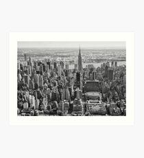 King of New York Art Print