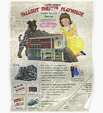 Atomic Ads - MILEMCO Girls Fallout Shelter Playhouse Poster