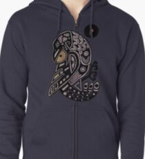 Ravens Steals the Sun Zipped Hoodie
