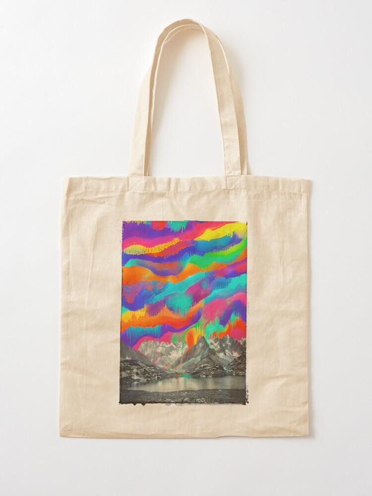 Alternate view of Skyfall, Melting Northern Lights Tote Bag