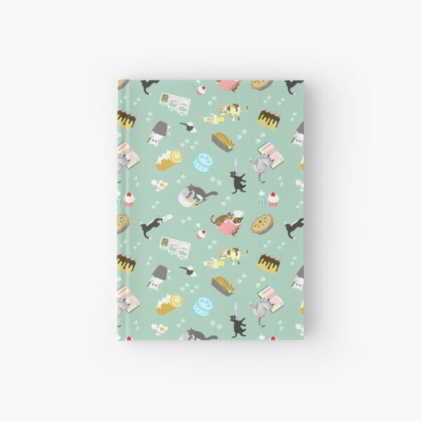 Cats Baking Cakes and other Sweets Hardcover Journal