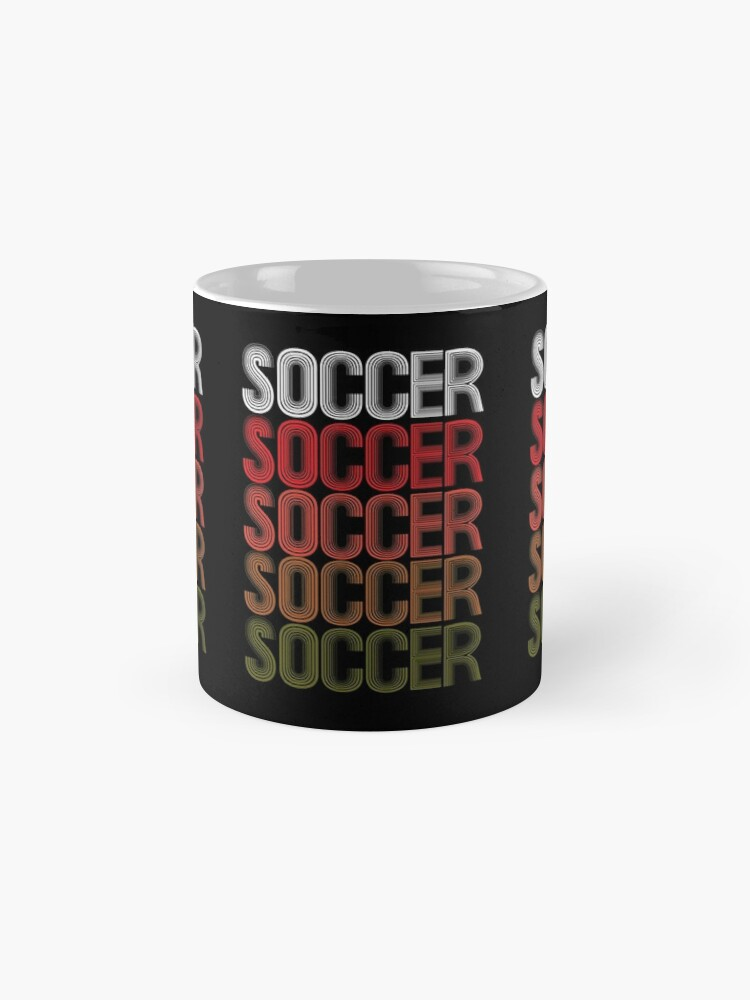 Alternate view of Cool Retro USA Soccer Design Mug