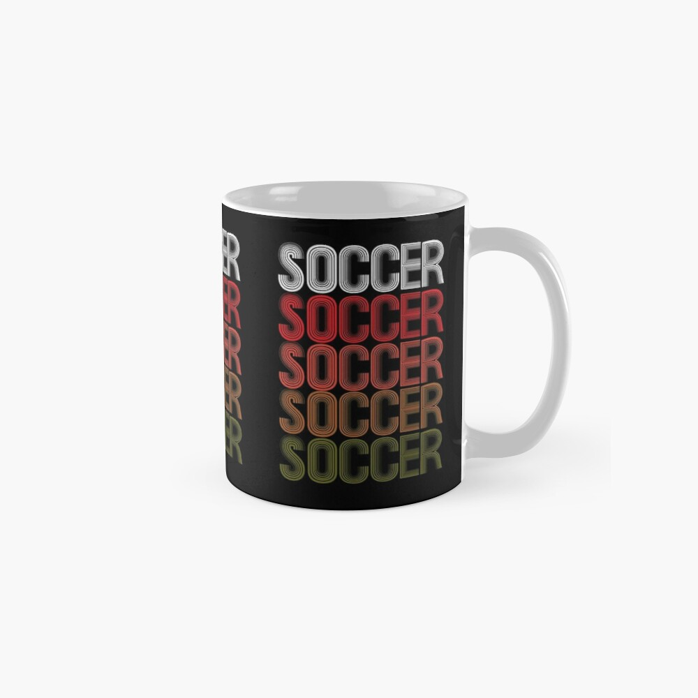 Cool Retro USA Soccer Design Mug