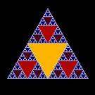 Sierpinski Triangle 2015 009 by Rupert Russell