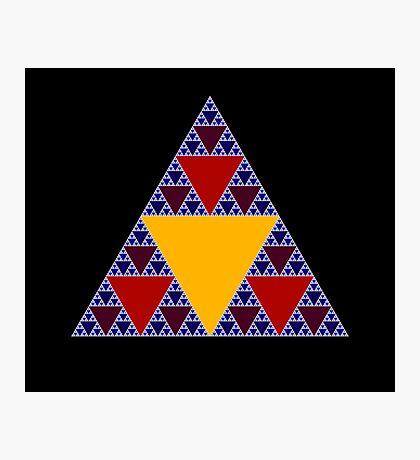 Sierpinski Triangle 2015 009 Photographic Print