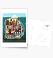 The tip of the iceberg Postcards