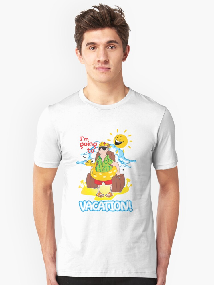 Vacation Unisex T-Shirt Front