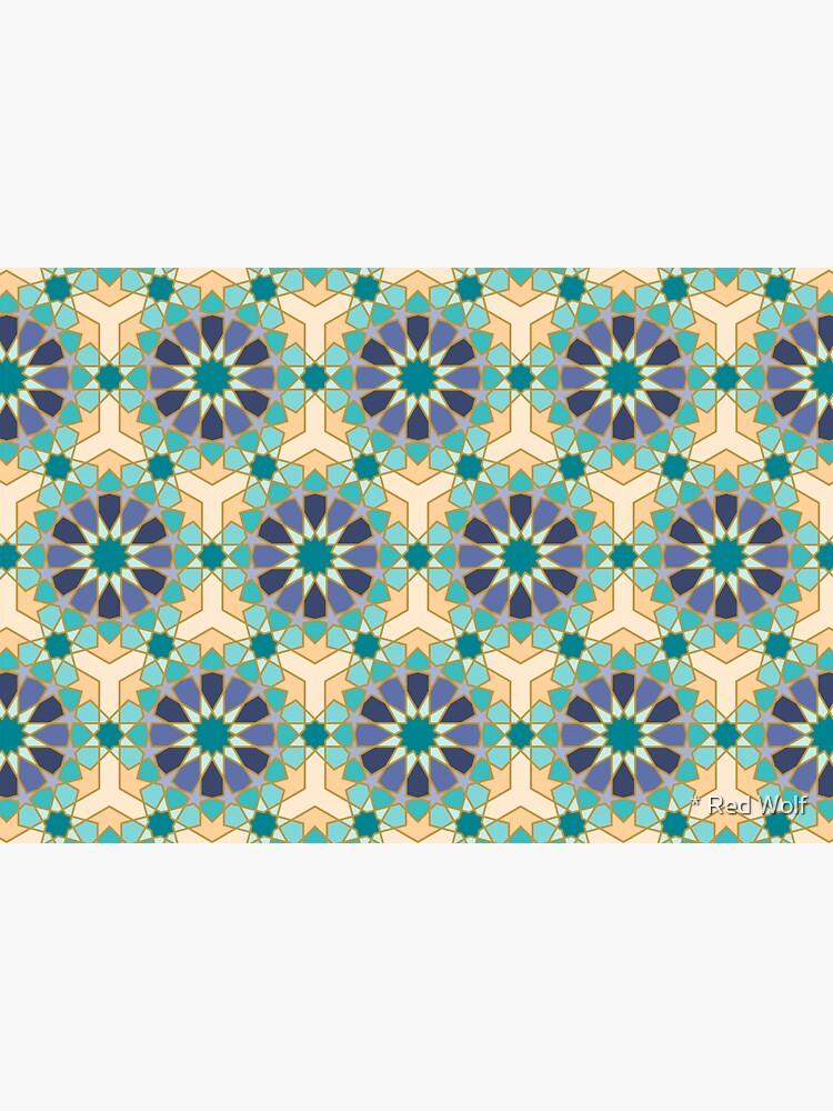 Geometric Pattern: Arabic Tiles: Dream by redwolfoz