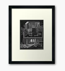 The Night Club Framed Print