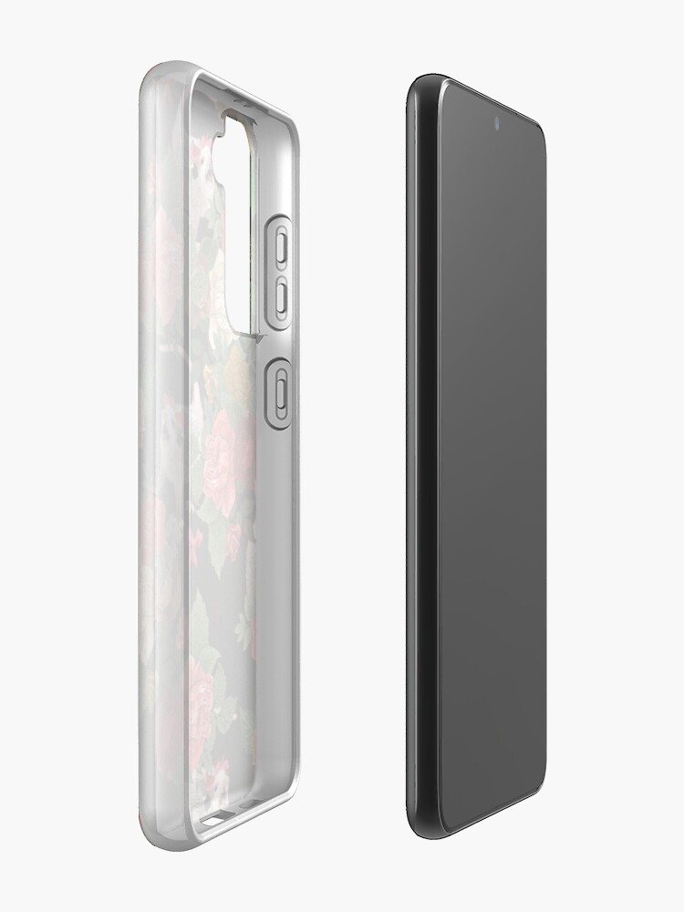 Alternate view of Opossum floral pattern Case & Skin for Samsung Galaxy