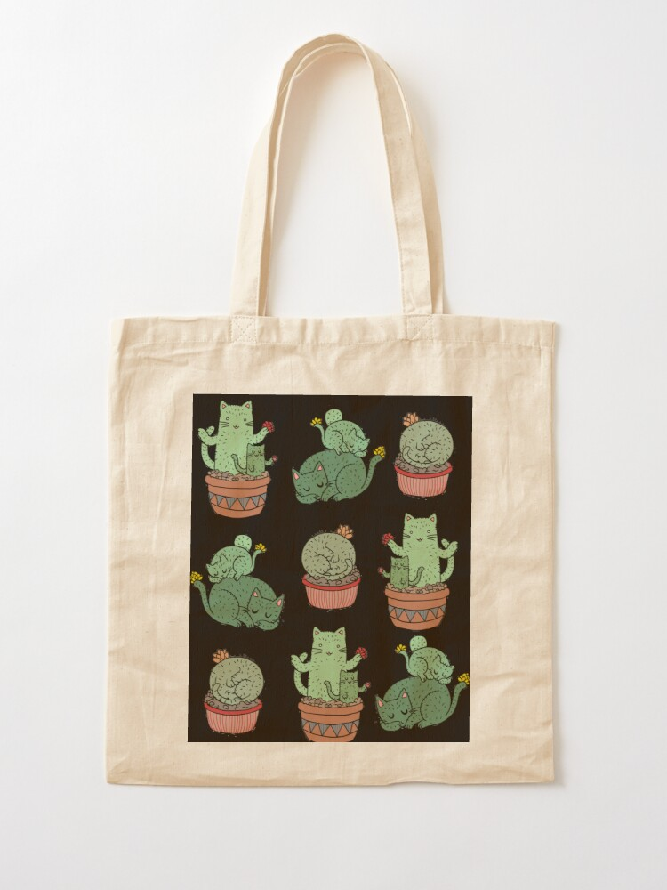 Alternate view of Cactus Cats Tote Bag
