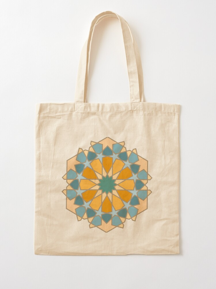 Alternate view of Geometric Pattern: Arabic Tiles: Lily Tote Bag