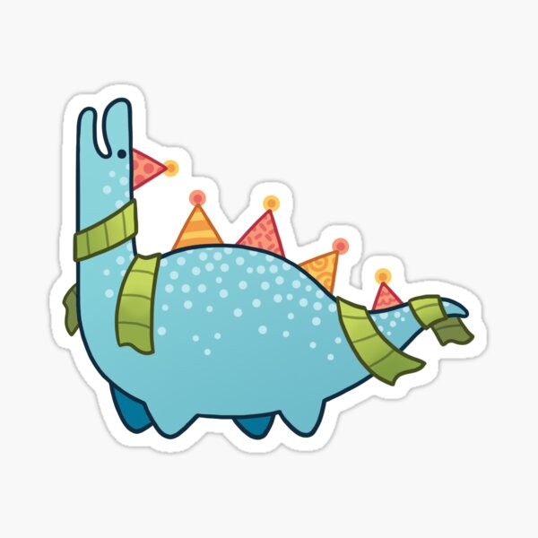 PARTYSAURUS Sticker