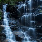 Sylvia Falls, NSW by Malcolm Katon