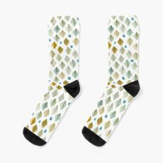 Watercolor Diamonds Socks