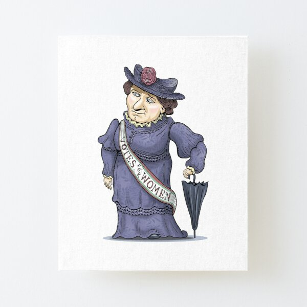 Nellie McClung Canvas Mounted Print